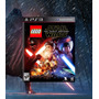 Lego Star Wars The Force Awakens Código Psn Ps3 Pt-br