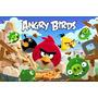 Painel 2.00x1.00 Decoração Festa Infantil Angry Birds
