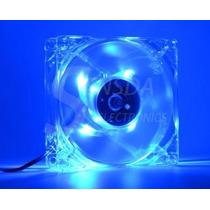 Cooler Hxs Ventilador Com Led Azul 80mm Para Pc Modulo