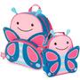 Mochila Mochilinha Bolsa Infantil Skip Zoo + Lancheira