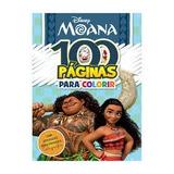 Livro Moana Colorir-disney