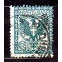 Itália 1901-26 * Brasão .de Armas * Águia * 5c .az .vd