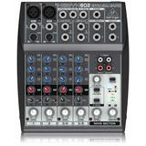 Mesa De Som Behringer Xenyx 802 Mixer Xenyx802