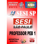 Apostila Sesi Sp Professor Educ Basica Peb I 2015