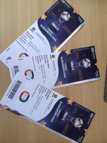 Ingresso Final Copa Sulamericana - Assunção-py Foi 09/11/19