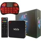 Smart Tv Box 4gb Ram + 32gb Mem 4k Android 9.0 + Teclado Led