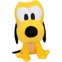 Pelúcia Disney Pluto Turma Do Mickey Baby Big Head Original