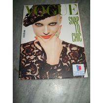 Revista Vogue Itália Nº 698 - 10/2008
