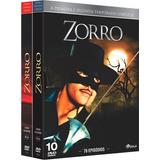 Box Dvd: Zorro 1ª E 2ª Temporada Completo - Original Lacrado