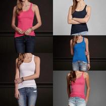 Blusa Camisa Feminina Hollister Abercrombie Regata Original