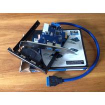 Placa Pic-e Usb 3.0 Com Extensor Frontal