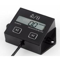 Tacômetro Horímetro Digital Para Tratores E Motores Gasolina