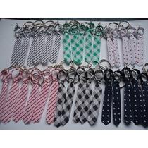 Mini Gravatas Dia Dos Pais-50 Unid C/ Chaveiro