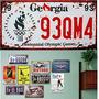 Placas Decorativas Vintage Metal Alto Relevo Kit X 14