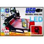 Fresadora Router Cnc-usb-led-350x350mm+video Aula Exclusiva