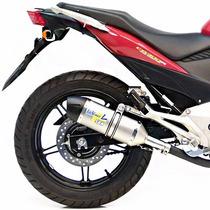 Escapamento Esportivo Leovince Honda Cb300 R Inox