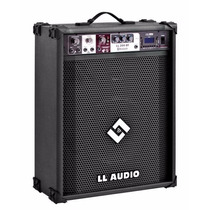 Caixa De Som Amplificada Ll200 Bluetooth Fm E Usb
