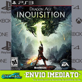 Dragon Age Inquisition Ps3 Jogo Digital Envio Agora!