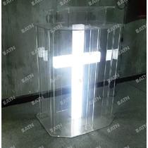 Púlpito Em Acrílico - Mod.stn02