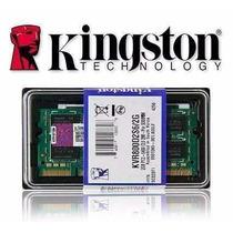 2 Pentes Memoria Ddr2 2x 2gb - 4gb 667mhz Kingston