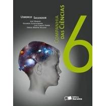 Livro Companhia Das Ciências 6º Ano Editora Saraiva