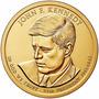 Estados Unidos 1 Moeda 1 Dólar Circulável John F Kennedy