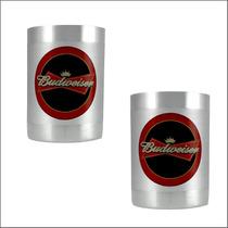 2 Porta Lata Térmico-cerveja Budweiser -churrasco-bar