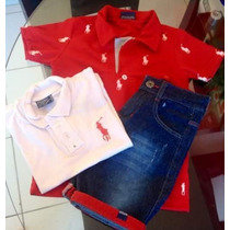 Camisa Polo Infantil Hollister Polo Ralph Lauren 2 Ao 14! Sp