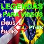 Tradução E Legendagem De Vídeos E Filmes | Inglês, Português