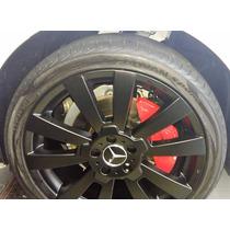 Jogo De Rodas 19 Mercedes Benz 5x112 Pneus Yokohama Advan S
