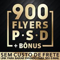 Flyers Psd 900 Modelos + Mockups + Bônus