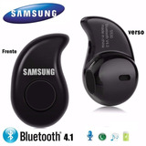 Mini Fone  S/fio Bluetooth 4.1 Micromeno Branco,preto E Bege