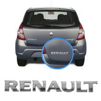 Letreiro Para Porta-malas Renault Cromado