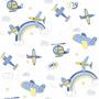 Papel De Parede Bambinos Quarto Infantil Bobinex Bebê 3306