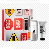 Kit 212 Vip Men 100ml + Gel De Banho ( Shower Gel ) 100ml