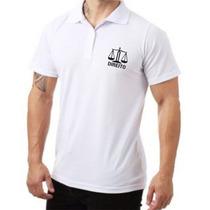 92eeb50282519 Camisa Polo Masculina Ou Feminina Curso Faculdade Direito à venda em ...