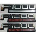 Kit Emblemas F-1000 Super Duty Traseiro E Laterias Ford 3 Pç