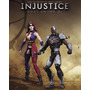 Dc Collectibles Pack-injustice Cyborg Versus Harley Quinn