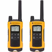 Radio Comunicador Talkabout T400br Amarelo Motorola+nfe