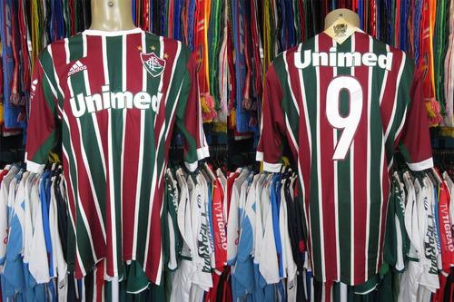Brechó do Futebol - Fluminense 2013 Camisa Titular Tamanho Gg Número 9 5122515297ff0