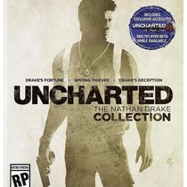 Código Do Jogo Uncharted The Nathan Drake Collection Ps4