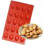 Forma Silicone Madeleines 20 Cavidades - Não Precisa Untar!