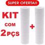 2 Cartuchos Elemento Filtrante Polipropileno P/ Filtro Pp