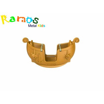Playground Plástico - Gangorra Viking Freso Parque Infantil