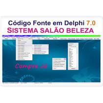 Código Fonte Em Delphi Sistema Salão De Beleza + Agenda