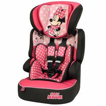 Cadeira Cadeirinha P/ Auto Poltrona Carro Minnie 9 A 36 Kg