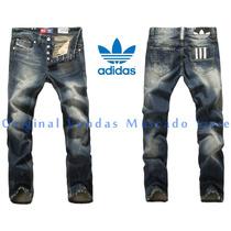 Calça Jeans Dark Masculina Adidas 2016 - Alta Qualidade