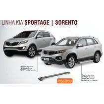 Estribo Aluminio G2 Kia Sorento - Sportage - Bepo