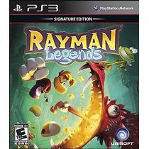Rayman Legends - Jogo Playstation 3 Totalmente Em Português