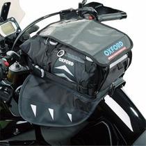 Mala De Tanque P/ Moto Oxford Ol330 15 Litros Com Imã Preta